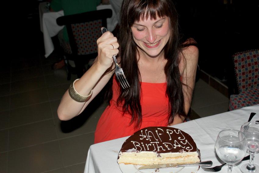 Именинный торт в Club Azur Resort 4*  — бесплатная услуга.