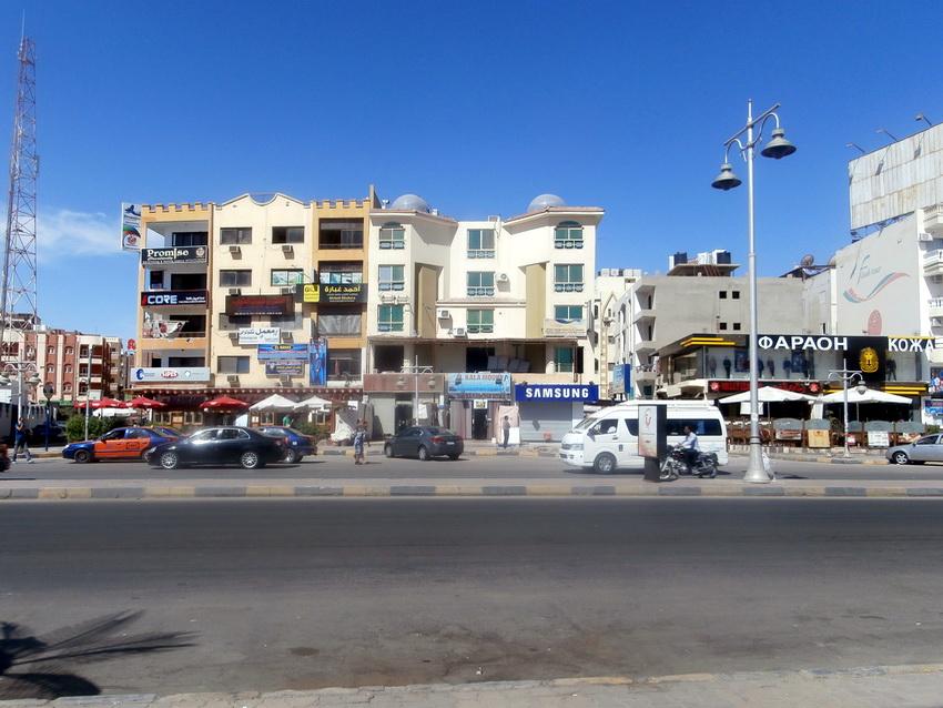 Улицы Хургады.
