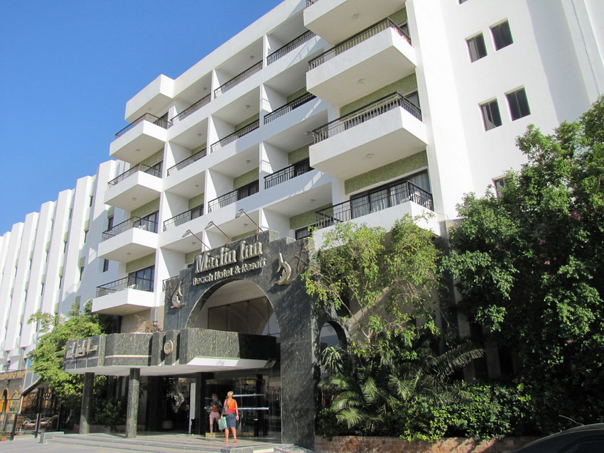 Отзыв Олеси об отдыхе в отеле Dessole Marlin Inn Beach Resort 4* в Хургаде.