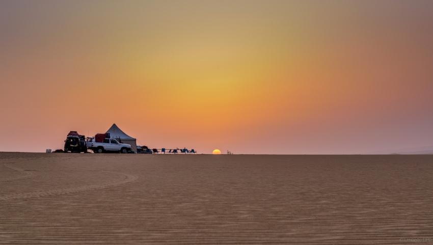 Стоянка в пустыне