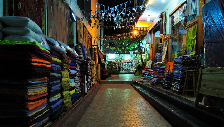 Ряды с текстилем