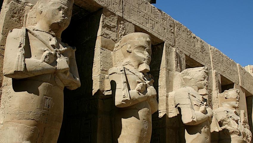 Каменные фараоны