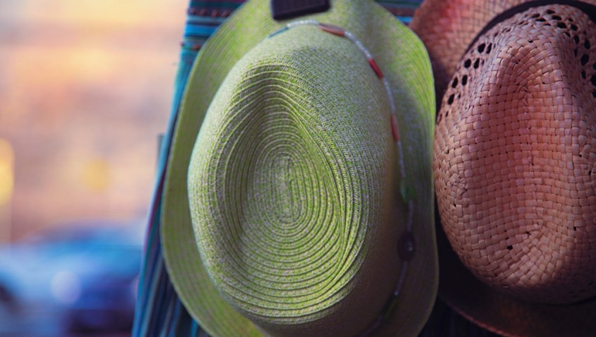 Продажа шляп в Египте