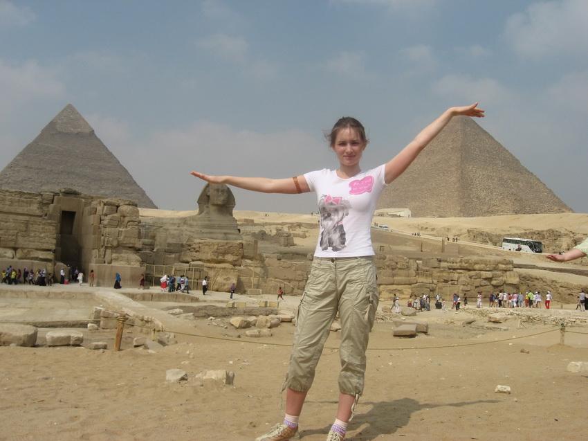 Экскурсия к пирамидам — сбылась места детства : я их увидела.