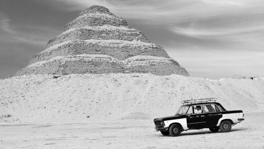 Такси в пустыне