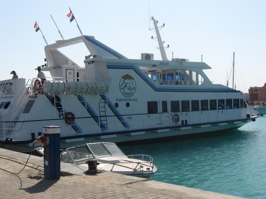 Экскурсионная яхта.