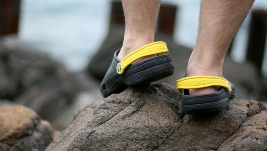 Обувь для плавания.