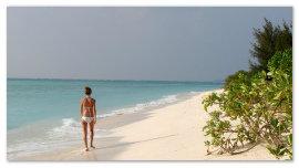 Пляж Индии.