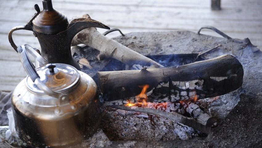 Пьем чай у бедуинов.