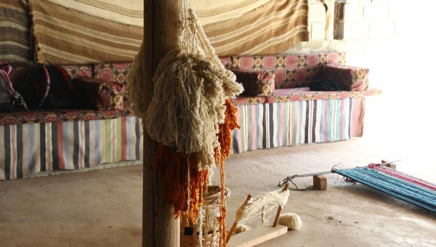 Деревня бедуинов.