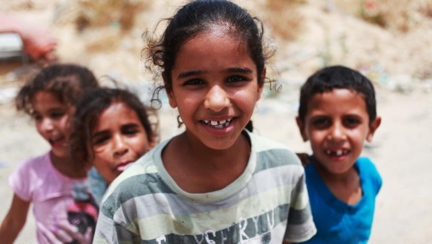 Дети бедуинов.