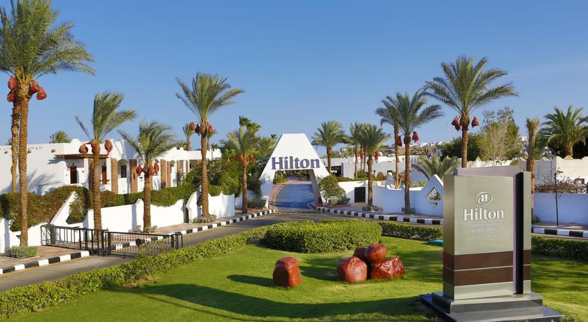 Отель Хилтон в Шарм-эль-Шейхе.
