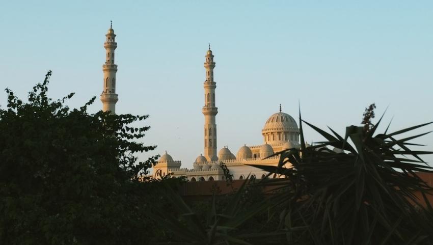 Мечеть в Хургаде.