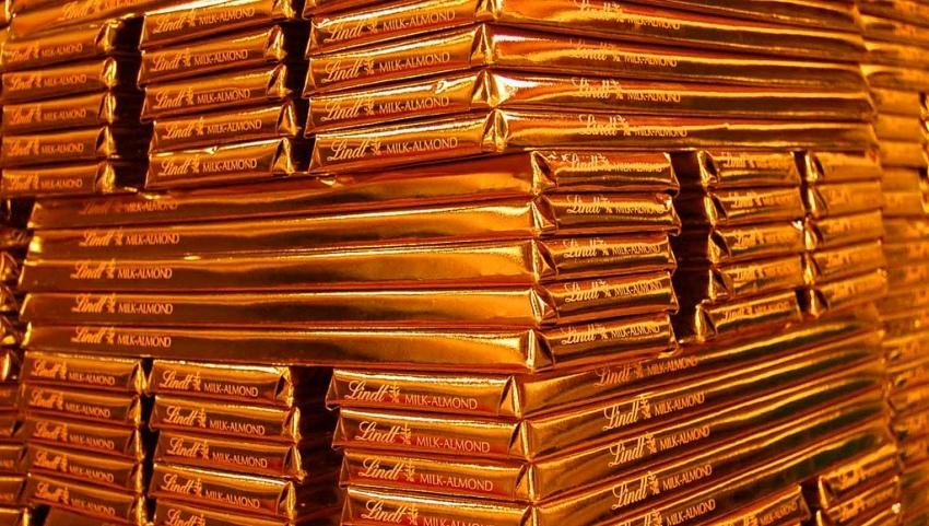 Плитки шоколада.