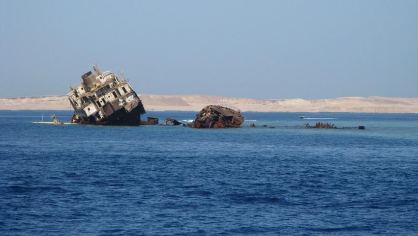 Вид на остров Тиран.