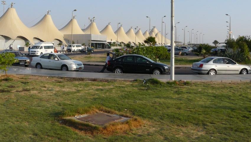 Вид на аэропорт.