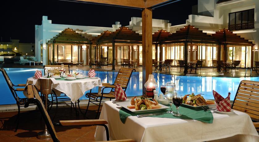 Еда в гостинице Хургады.