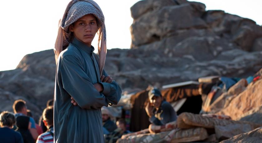 Парнишка бедуин.