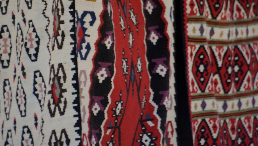 Мусульманские ковры.