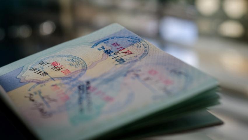 Паспортный контроль.