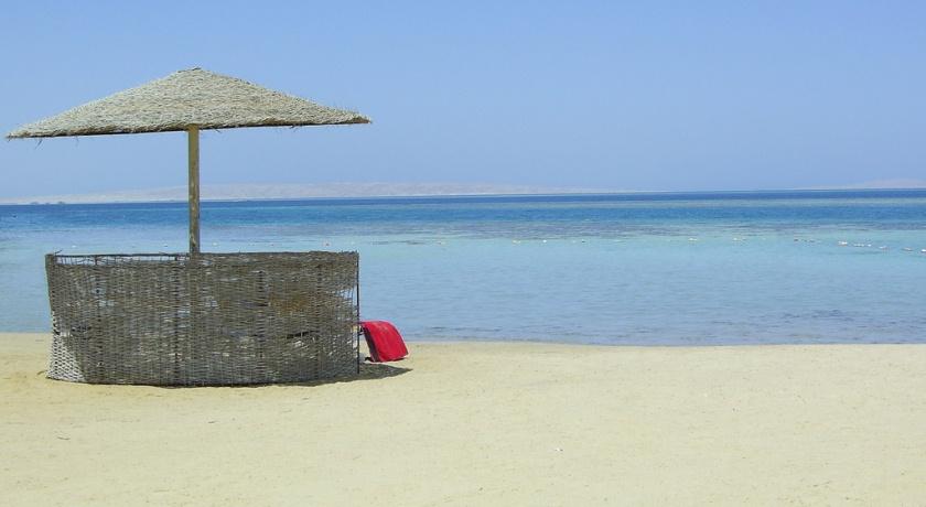 Пляж Хургады.