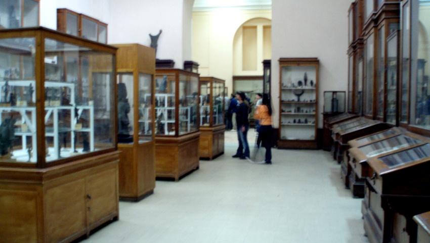 В залах музея.