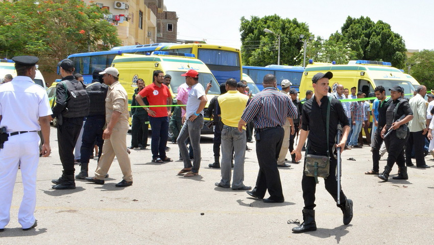 Атака на туристов в Хургаде.
